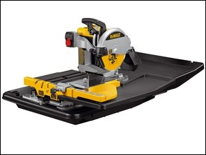 DeWalt d24000-gb Wet Tile Sega con supporto, 250mm Diametro Ruota, 240V - Taglio Wet Saw