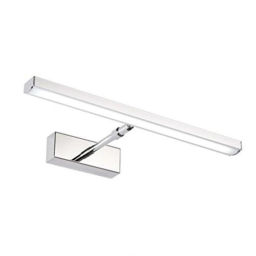 Preisvergleich Produktbild ROSENICE Bad Licht einklappbare Spiegel Licht wasserdicht gedreht Bad Wandleuchte Wandlampen (reines weißes Licht)