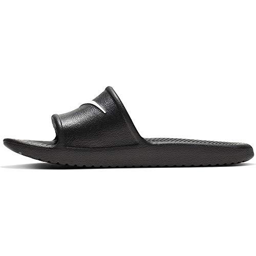 Nike kawa shower (gs/ps), scarpe da spiaggia e piscina bambino, nero (black/white 001), 31 eu