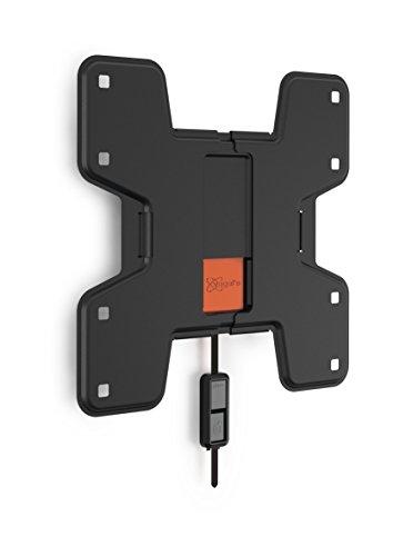 Vogel's WALL 2105 TV-Wandhalterung für 48-104 cm (19-40 Zoll) Fernseher, starr, max. 20 kg, Vesa max. 200 x 200 mm, schwarz
