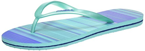 Oneill Ladies Fw Print Infradito Diva Verde (stampa Allover Verde)