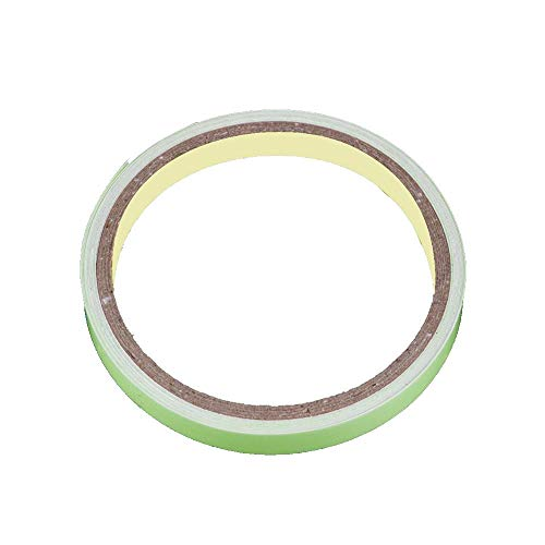 MA87 Leuchtband selbstklebendes Glow In The Dark Sicherheitsbühne Home Warnband - Dark Vinyl-akzenten