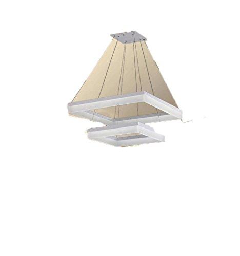 Preisvergleich Produktbild YTB Acryl LED rechteckig minimalistischen Kronleuchter Lampe Restaurant Lichter Wohnzimmerlampe