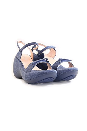 Fornarina , Baskets pour femme Violet - Indigo Canvas