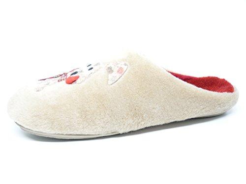 Vul-Ladi, Pantofole donna beige Size: 40
