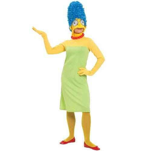 Marge Simpson Kostüm - Karneval Damen Kostüm Marge Simpson zum Comic verkleiden Größe S