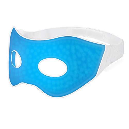 Plemo Gel Augenmaske Schlafmaske Entspannungsmaske Wellnessmaske, Kälte-