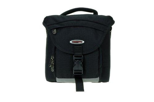Dörr Mountain Pro Fototasche für kompakte DSLR-Kamera mit 3-4 Standard und 1-2 Telezoom Objektiven (Größe L) schwarz