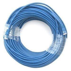 RiteAV-Cat5e Netzwerk Ethernet Kabel-Blau-100FT. (Plenum spezifische) (reines Kupfer) -
