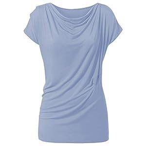 CURARE Yoga-Shirt Wasserfall – Blue Moon L