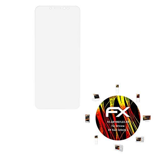 atFolix Schutzfolie kompatibel mit Allview X4 Soul Infinity L Bildschirmschutzfolie, HD-Entspiegelung FX Folie (3X)