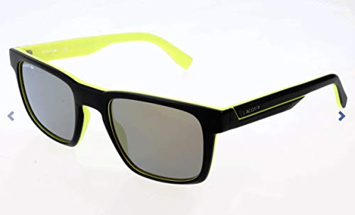 Lacoste Herren L865S Sonnenbrille, Schwarz, 52