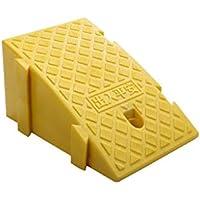 LPYMX Rampas De Alta Resistencia rampas umbral portátiles for rampas de Silla de Ruedas, rampas for Alta 19cm frenar la rampa para Silla de Ruedas (Color : Yellow, Size : 1pcs)