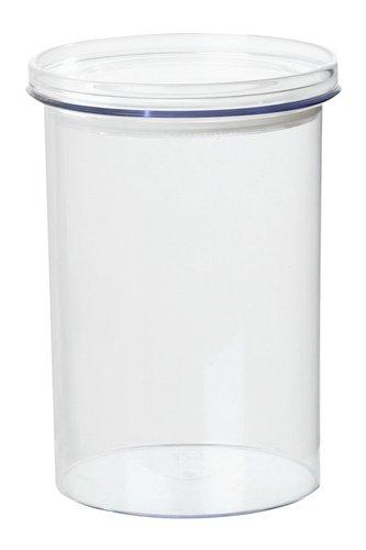 Plast Team 53170160 Stockholm Food Canister 1,0 L, Dose klar/Deckel klar - Vakuum Food-kanister