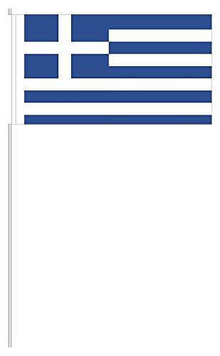 """Preisvergleich Produktbild 10 x Papierfähnchen """"Griechenland"""" - partydiscount24®"""