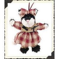 Boyds Bears Plush ESPRESSO FRISKY Fabric Ornament Cat Kitten 56272 by BOYDS BEARS PLUSH