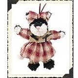 Boyds Bears Plush ESPRESSO FRISKY Fabric Ornament Cat Kitten 56272 by BOYDS BEARS PLUSH