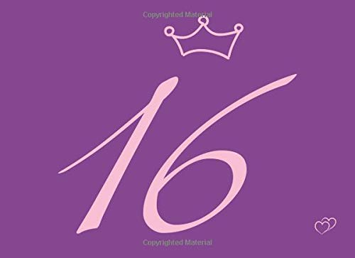 16, Friendship Book To Write In With Purple Cover ()