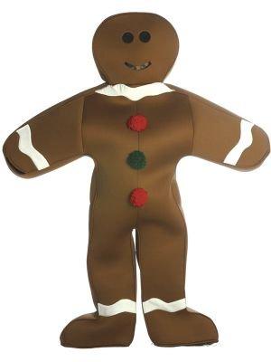 Kostüm Lebkuchen - Lebkuchen Mann Kostüm Kind