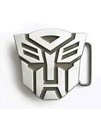 De color marfil Falcon Transformers hebilla de cinturón para hombre forro