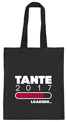 Geschenkidee natur Jutebeutel Stoffbeutel mit Tante 2017 Loading... Motiv von ShirtStreet schwarz natur