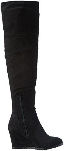 Miss KG Damen Vivien Langschaft Stiefel Schwarz (Black)