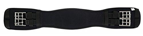 Anatomischer Kurzgurt mit Memory-Schaum Horse Guard schwarz 65cm -