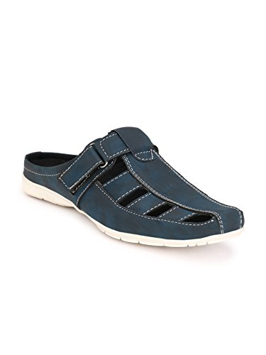 Wonker blue casual open back sandels  available at amazon for Rs.699