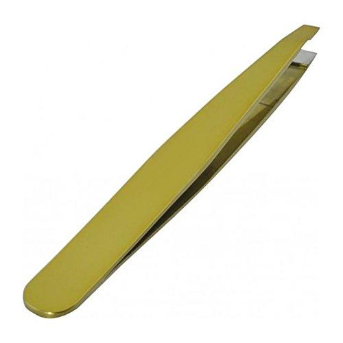 MARQUE VERTE Pince à épiler mors biais - prix unitaire - couleur aléatoire bleu, beige ou vert