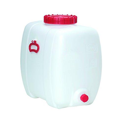 Kunststoff-Fass oval aus PE 150 L inkl. Auslaufhahn NW 15