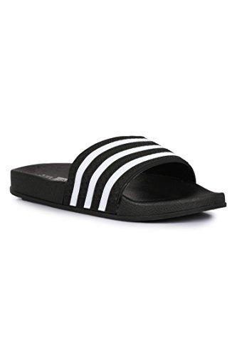 Appe Men Casual Black Slippers/Flip-Flops