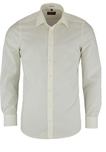 Hemden Realistisch 2019 Weiß Langarm Business Casual Shirt Slim Fit Einfarbig Französisch Manschettenknöpfe Hemd Männer Kleid Shirts Französisch Manschette Blau