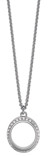 ESPRIT Damen-Kette Infinity 925 Sterling Silber 42-45cm ESNL91893A420