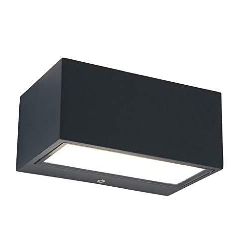 Applique Extérieure,Lampe De Jardin Balcon Escalier Allée Simple Moderne Moderne Led Applique Murale Extérieure (taille : Large)