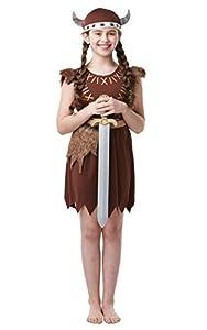 Rubies - Disfraz oficial de vikinga para niña