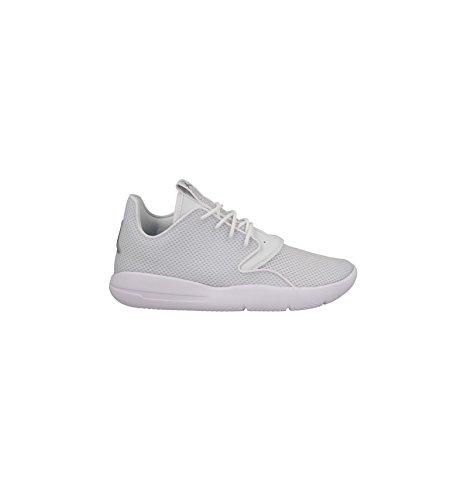 Nike White/White-Pure Platinum, Espadrilles de Basket-Ball Garçon