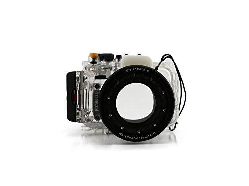 CameraPlus - Unterwasser digitalkamera - Unterwassergehäuse für SONY DSC-RX100 III bis 40m Wasserdicht leicht bedienbar