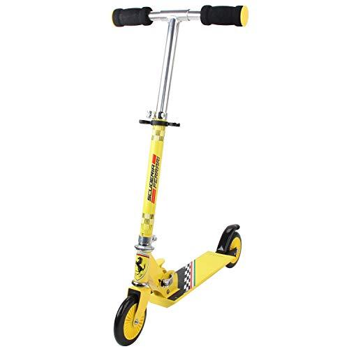 Ferrari FXK30 Roller Gelb Scooter Cityroller 6950031
