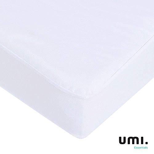 UMI. Essentials Protège Matelas Imperméable 160x200cm - Alèse Respirante, Hypoallergenique, Anti-Acarien, Anti-Bactérien par