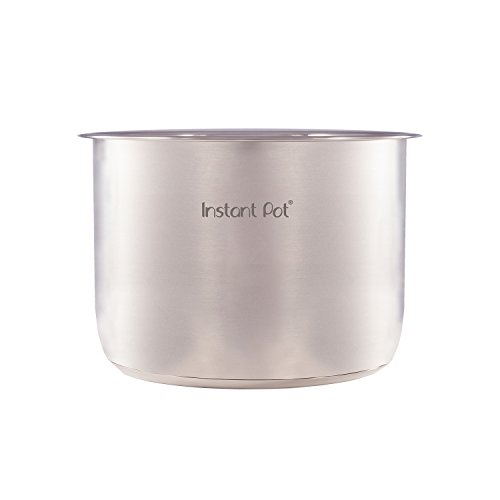 31EOMQmCYJL. SS500  - Instant Pot Inner Pot for Smart Electric Pressure Cookers, 6 Litres, Stainless Steel