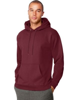 Adult Ultimate Cotton Hooded Pullover - Kastanienbraun - XL (Hooded Cotton Pullover Ultimate)