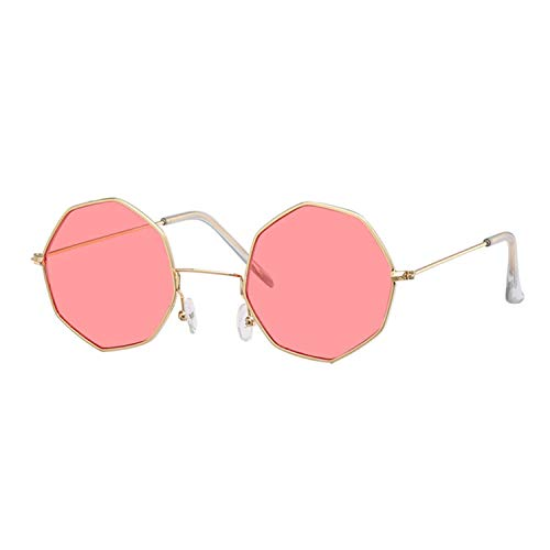 WERERT Sportbrille Sonnenbrillen Sunglasses Women Men Ladies Small Square Sunglasses Female Metal Frame Driving Fishing Glasses
