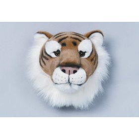 Bibib Trophée - Tête de Tigre en Peluche