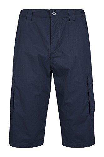 Mountain Warehouse Bermuda per uomo Trek Blu navy