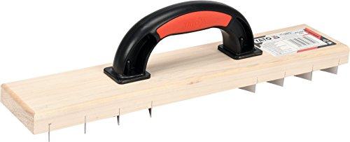 YATO Profi Raspelhobel für Porenbeton und Gips   405 x 84 mm   Ausführung mit Klingen   Rabot Raspelbrett Gipshobel Trockenbau Hobel Kantenhobel