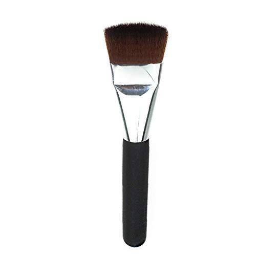 BlackEdragon Einzelne kleine Schwarze Stange flachen Kopf Kontur Pinsel professionelle Make-up Pinsel Set weiche Kunstfaser erröten Make-up Pinsel Tool Kit -