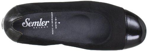 Semler N6026401001, Ballerines femme Noir (Schwarz 001)