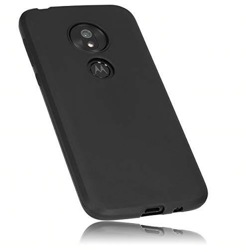 mumbi Schutzhülle Kompatibel mit Motorola Moto G7 Play Hülle, Handyhülle Passgenau, Schwarz