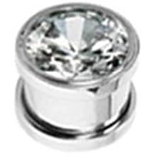 Paula & Fritz® túnel con rosca de acero inoxidable acero quirúrgico ...