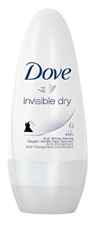 Dove Invisible Dry Roll-On Deodorant 6-Pack (6 x 50 ml)